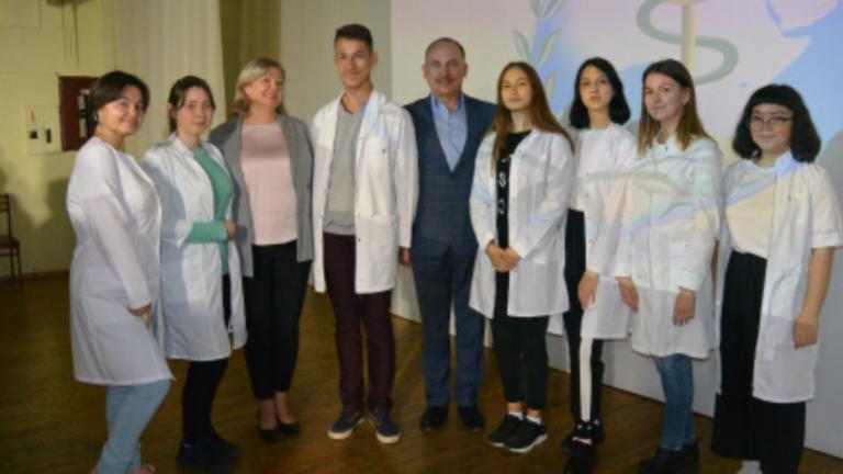 Открытие медицинских классов
