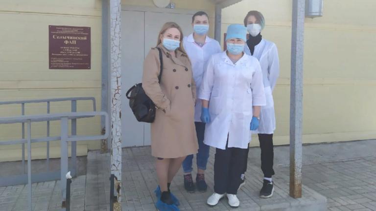 Республиканский Медицинский Колледж принял участие в акции Волонтеров-медиков | Удмуртская Республика – Добро в село