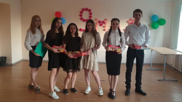 Студенты провели мероприятие, посвящённое Великому Дню Победы!!!