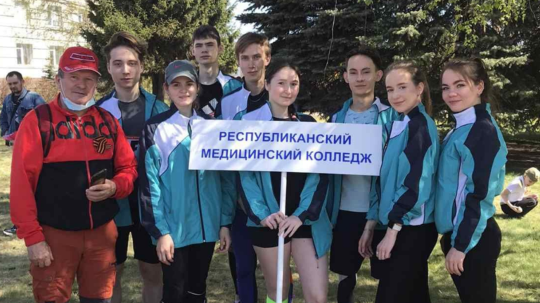 9 мая наши спортсмены приняли участие в Эстафете Мира